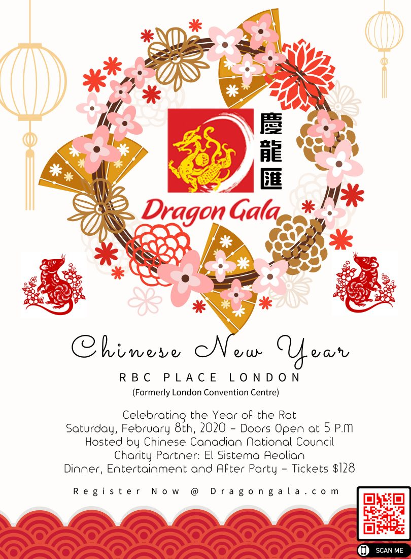 Copy of Chinese New Year Party flyer Template